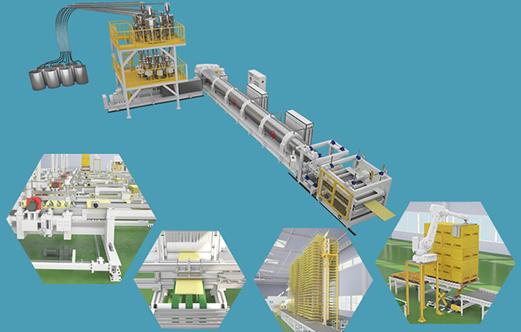 法宁格二氧化碳挤塑板设备